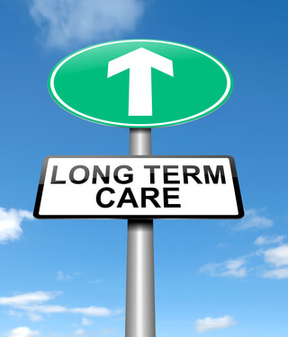 Long term rehab Center Sign